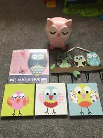 Owl bundle excellent condition