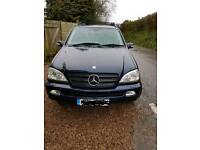 2005 Mercedes ml 270cdi 7 seater