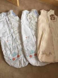 6-18 Month sleeping bags 2.5 tog