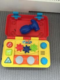 ABC learning toy with lights and sounds