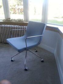 Cool Scandinavian swivel armchair