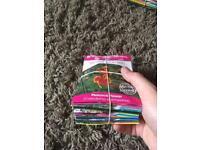 32 packets of sealed seeds rrp over £67 selling cheap