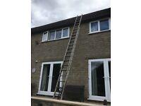 2 section aluminium extension ladders