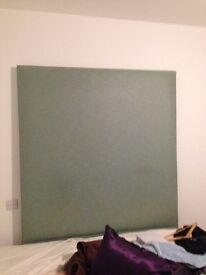 Green head board good condition