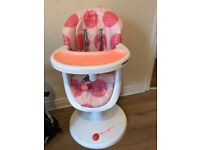 Pink Cosatto High Chair
