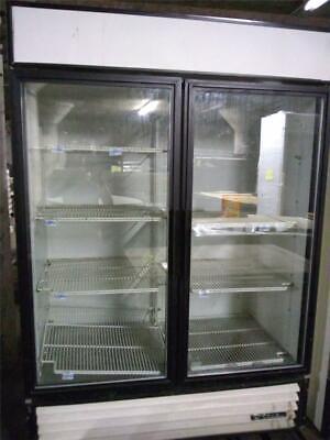 2 Door Cooler Reach In Glass Door Refrigerator Commercial Used Store Fixtures