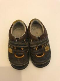 Clarks baby shoes 4G
