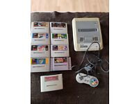 Super Nintendo and Boxed GameCube with games, all 100% working