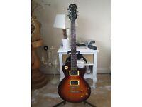 Gibson Epiphone Les Paul 100 (LP100) VintageBurst 1993 Korea/Padded Epi Gigbag/Stand/(Optional Amp)