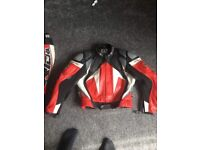 Motorcycle suit & boots