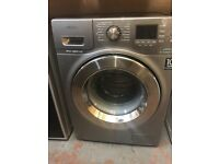 GREY SAMSUNG 8KG WASHING MACHINE