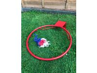 18'' Professional Basketball Hoop Ring