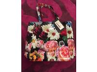 Ted Baker Oil Print Bag - brand new and unused.