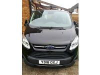 UBER ready RENT 2 BUY PCO 9 SEATS FORD Tourneo Titanium Custom 2.0 diesel AUTO from £220/week hire