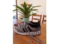 Size 7 adidas hardly warn so great condition