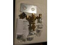 Bristan thermostatic recessed dual control shower valve