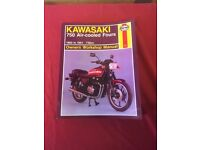 KAWASAKI GT 750 WORKSHOP MANUAL 1980-1991.