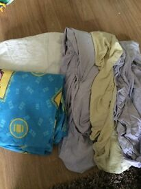 Cot Bed bundle of duvet, covers and sheets