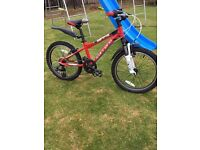"Carrera Blast Junior Mountain Bike - 20"" - Boys / Childrens / Kids bike"
