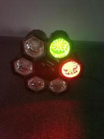 Pro sound disco lights