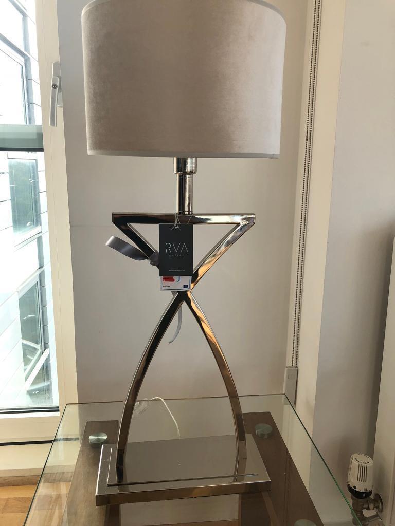 RV Astley Klara Table Lamp Nickel | RRP £159 | in London | Gumtree