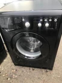 Indesit 7kg Black Washing Machine