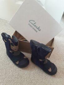 Clarks Iva Friend Boots