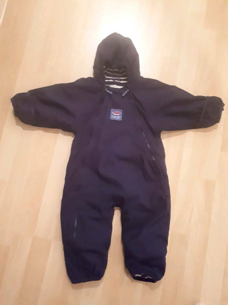 4d2a6a22c Unisex 9-12mth Jojo Maman Bebe all-in-one waterproof  snow suit