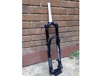 Rockshox revelation rlt mountain bike mtb suspension forks. 27.5, 140mm travel. 2014.