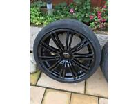 "20"" Alloy Wheels Vivaro vw t5"