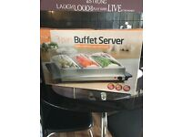 Buffet server Keep your food hot this winter brand new never used
