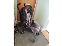 Black silvercross limited edition stroller
