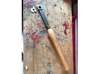 Woodturning multi tip chisel