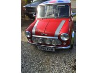 Classic rover mini city 29000 miles on the clock MOT till November 2017 sold without tax.