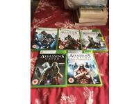 Assassins creed games bundle Xbox 360