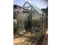 6x5 Greenhouse/100% intact/Dismantled/Can deliver