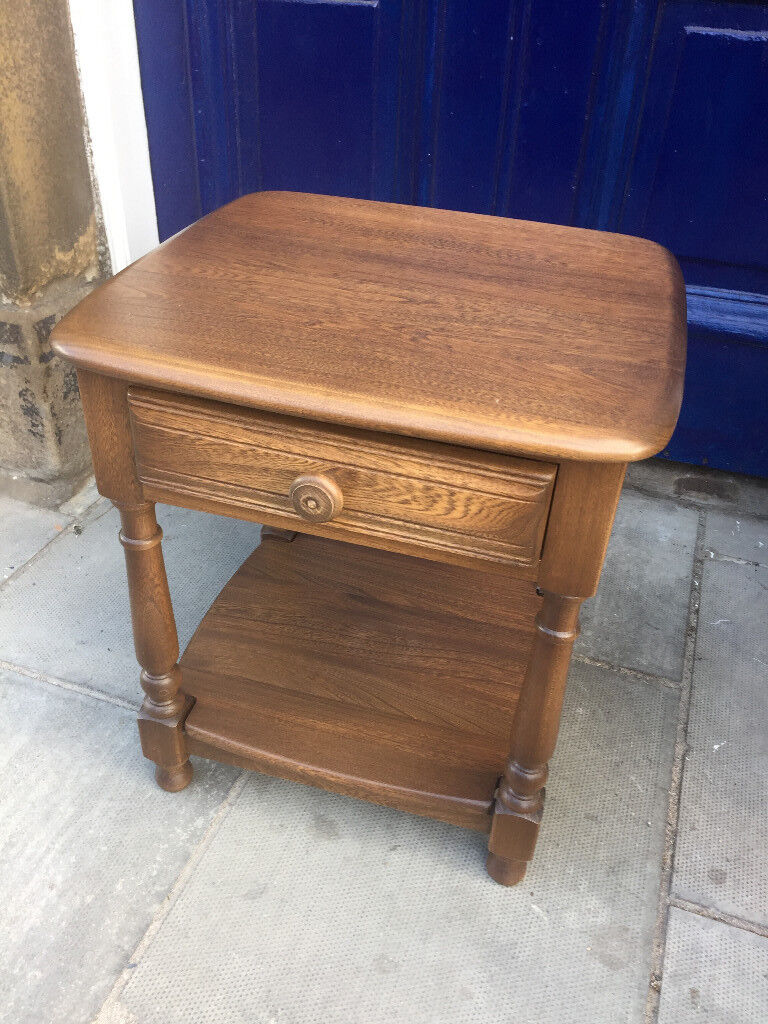 ERCOL side table /lamp table in good condition. In golden dawn. Must be seen RRP £599 OUR PRICE £250