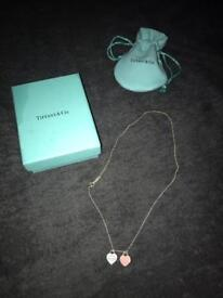 Genuine Tiffany & co necklace
