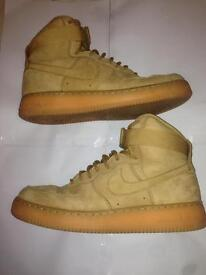 "NIKE AIR FORCE 1 HIGH 07 LV8 WB ""FLAX"""