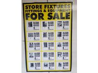 Shopfloor Fittings & Fixtures / Warehouse Racking For Sale