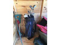 Full Set of McGregor Golf Clubs - with bag