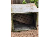 Grey metal trough container - free to anyone interested
