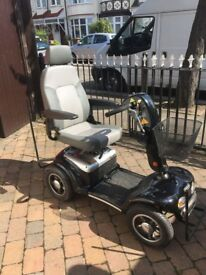 Sterling Diamond Mobility Scooter, barely used complete with canopy.