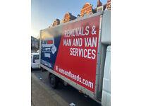 VANS AND HANDS 24/7 HOUSE REMOVAL MAN WITH VAN HIRE SERVICE HOME MOVERS OFFICE REMOVAL COMPANY