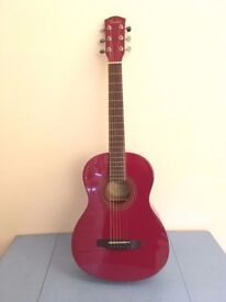 Fender MA-1 3/4 Size Acoustic Guitar (Red)