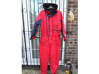 Sundridge - Flotation Suit (all in one) - Breathable & Windproof - 100% waterproof
