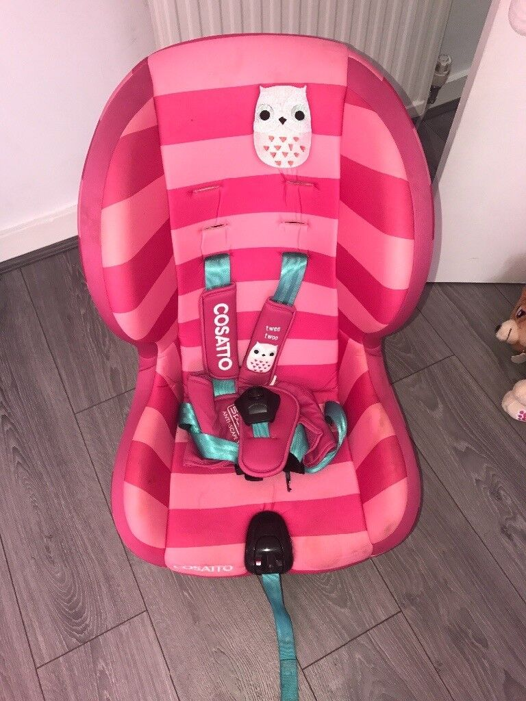 Cosatto Pink Owl Car Seat