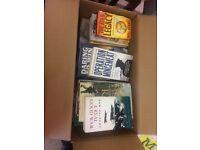 Box full of books need gone asap