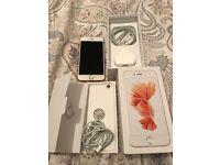 Apple I Phone 6s 64 gb rose gold unlocked