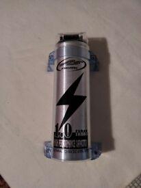 Prosonic 1.0 Farad 12-16v Power Capacitor with Digital Voltage Display